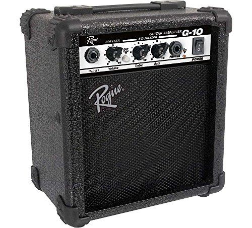 - Rogue G10 10W 1x5 Guitar Combo Amp Black