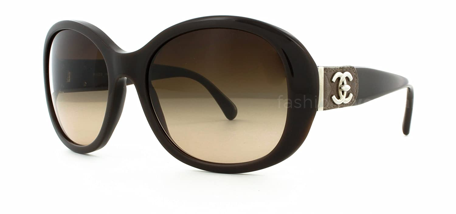 Gafas de Sol Chanel CH5235Q BROWN/BROWN GRADIENT: Amazon.es ...