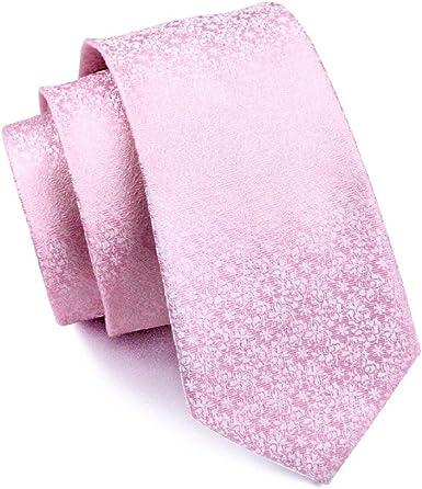 caofenvoo Hombres de Negocios Formal de seda corbata Jacquard ...