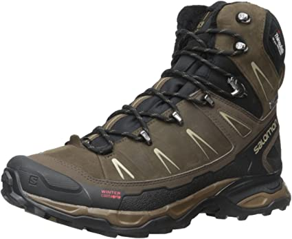 Salomon X ULTRA Winter CS WP Men (372827), Brown, 48: Amazon ETfAZ