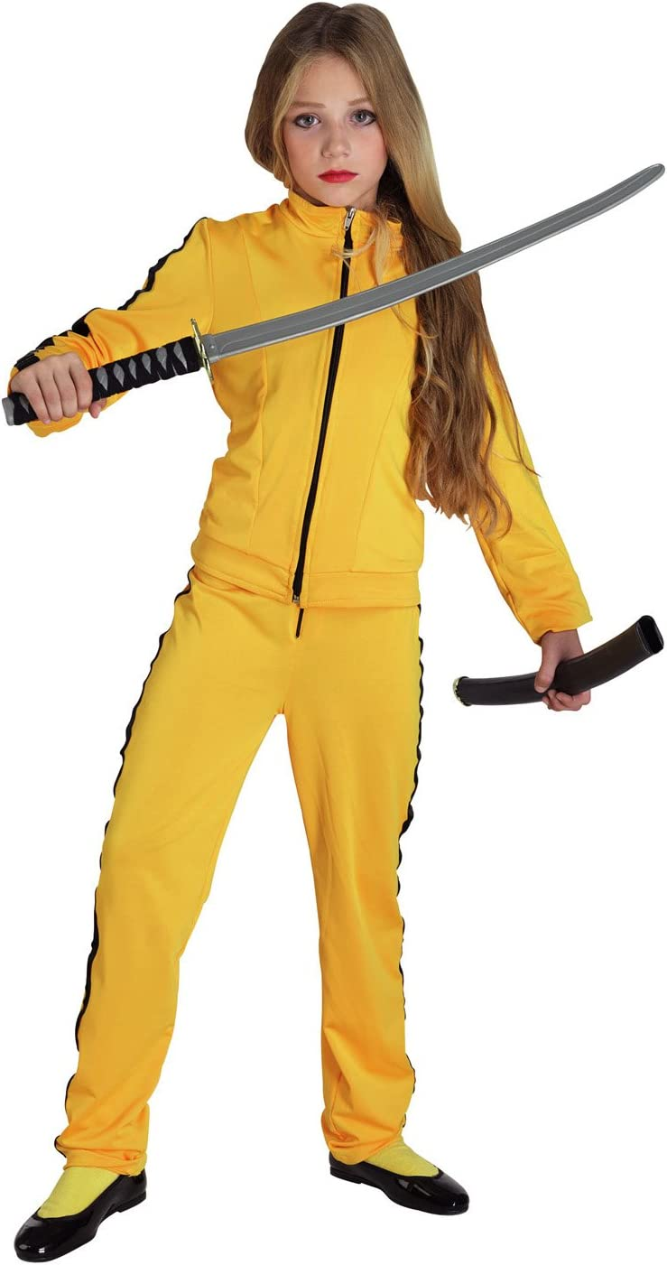 chiber Disfraces Disfraz de Kill Bill para niña (Talla 8): Amazon ...