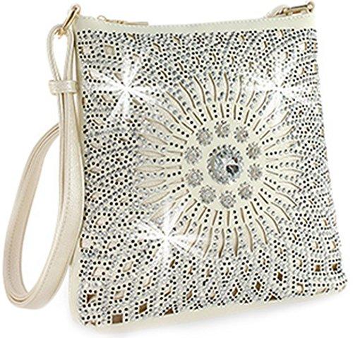 Starburst Cross Bag Zzfab Sparkle All Body Pearl Bright BvnUwx6