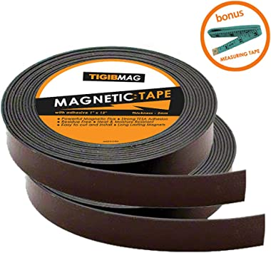 """2pack 29/"""" Long Magnetic Tape Self-adhesive tape perfect for Various Diy Projects"""