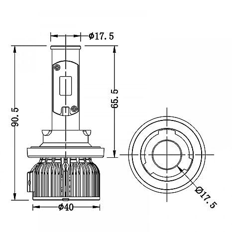 9007 Bulb Diagram