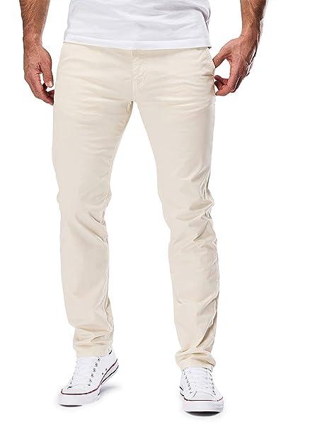 4ac84ac64db172 Merish Uomo Pantaloni Chino Cotone Jeans Pantaloni Casual Pantaloni ...