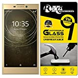 Roxel® Sony Xperia L2 Dual 360° Flexiable Tempered Glass with Unbreakable Impossible Film Glass [ Better Than Tempered Glass ] Screen Protector for Sony Xperia L2 Dual (Gold)