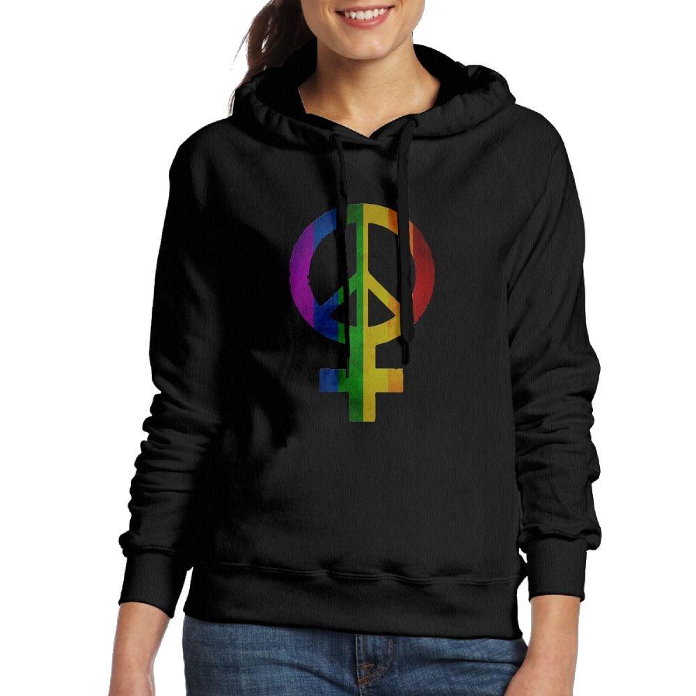 Corelosa Peace Feminism Women's Hoodies