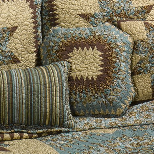 Donna Sharp Sea Breeze Star Quilted