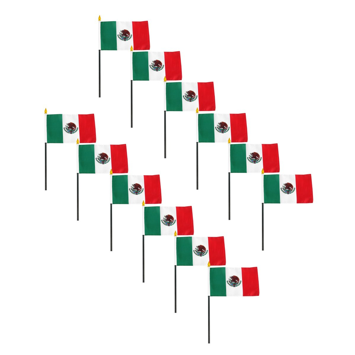 amazon com us flag store mexico flag 4 by 6 inch outdoor