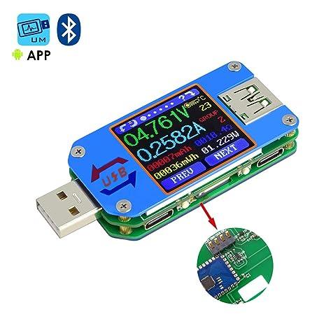 Review MakerHawk UM25C USB Tester,