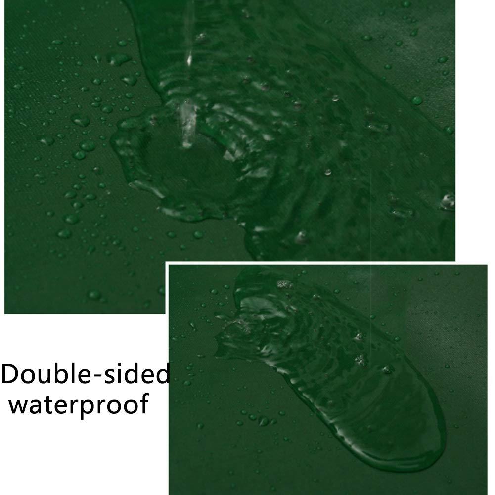 JNYZQ Wasserdichte Plane Hochleistungs-Faltbare Segeltuchplanen-Bodenplane deckt regenfeste 650g dauerhafte doppelseitige Plane 650g regenfeste   ab (größe   3m×2m) 922745