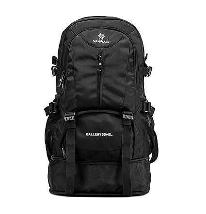 5413135aa8e8 Amazon.com   VANWALK Hiking Backpack 35L with Waterproof Backpack ...