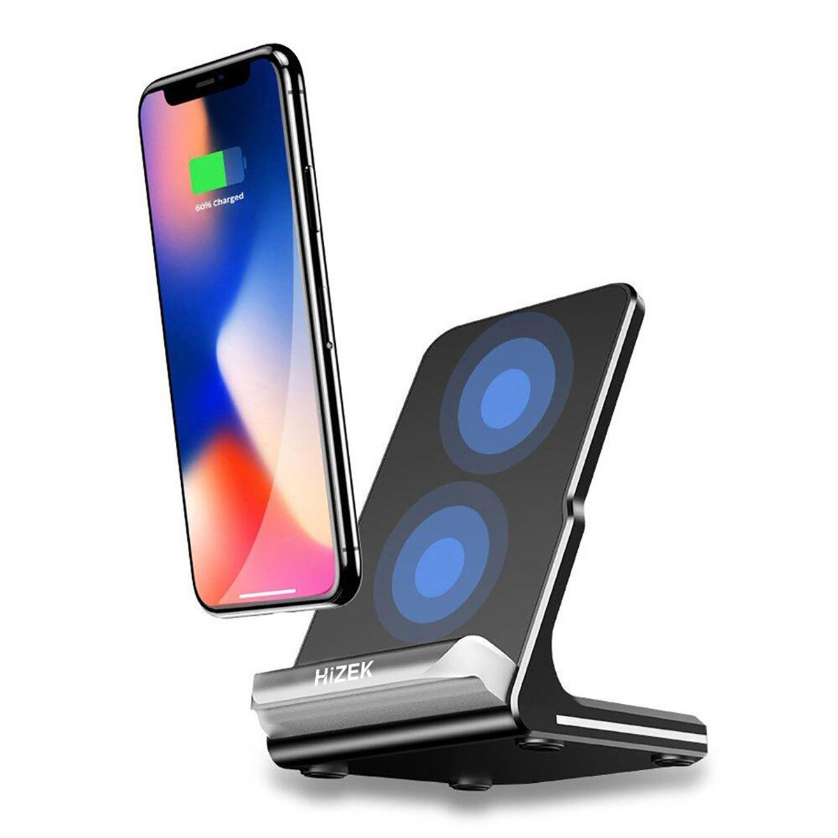 Wireless Charger, Hizek Qi Wireless: Amazon.de: Computer & Zubehör
