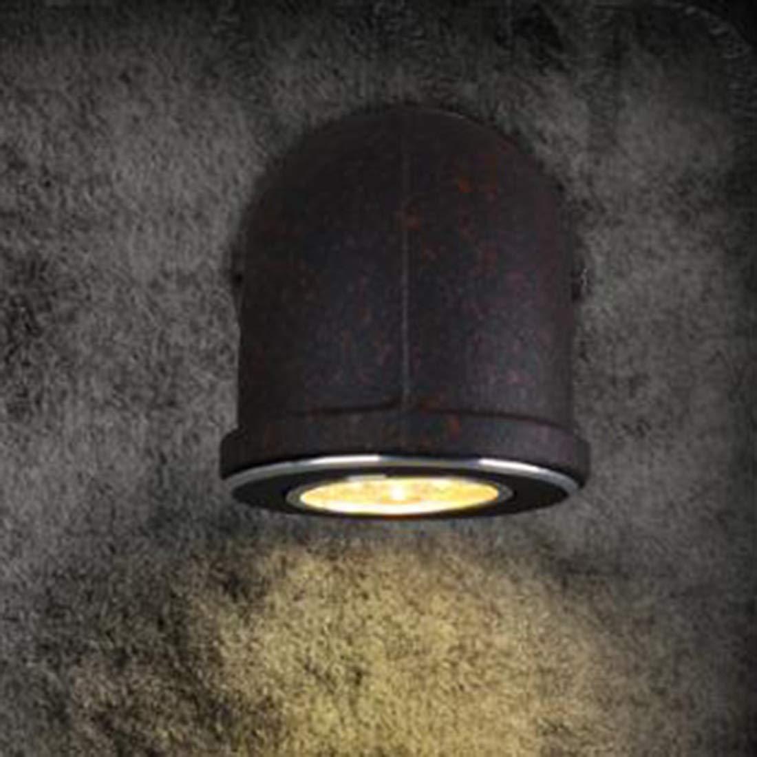 Mkulxina Altmodische LED Wand Lampe Eisenrohr Wand Lampe Wand Lampe Wandleuchte