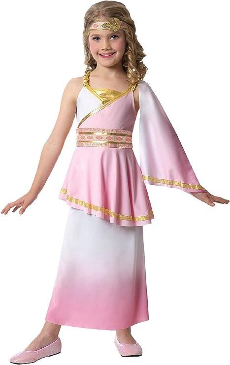 Fancy Me Disfraz de Cleopatra egipcia para niñas, Color Rosa ...