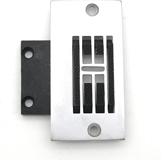 KUNPENG - 1conjunto Placa de aguja y máquina de coser diente ajuste para SINGER 107G, 107W, 140W, 143W, 457G, 457U ...