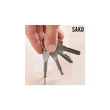 Hasëndad- Sako Llavero destornillador (IGS IG111207): Amazon ...