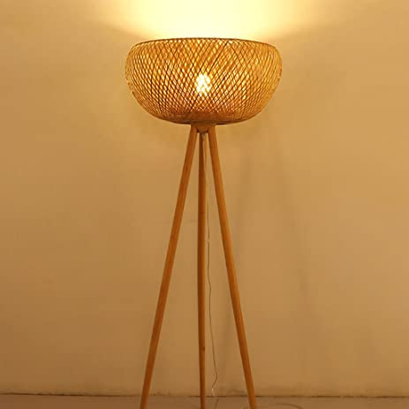 w three lamp floor black design pin k timeless tine legs rattan products home in