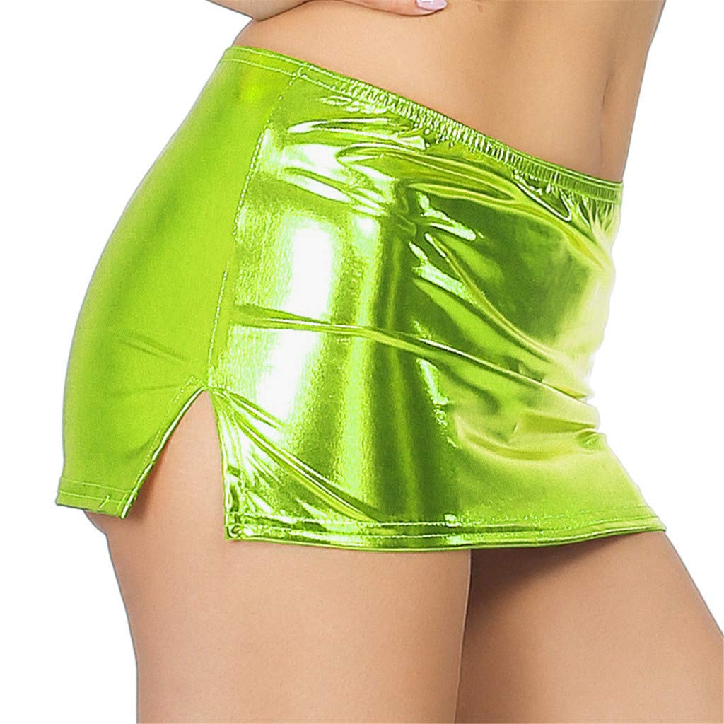 Yoga Bras for Women Pack,Women Sexy Leather Underwear Lingerie Patent Leather Night Skirt Sexy,Work Utility & Safety Clothing,Mint Green,One Size