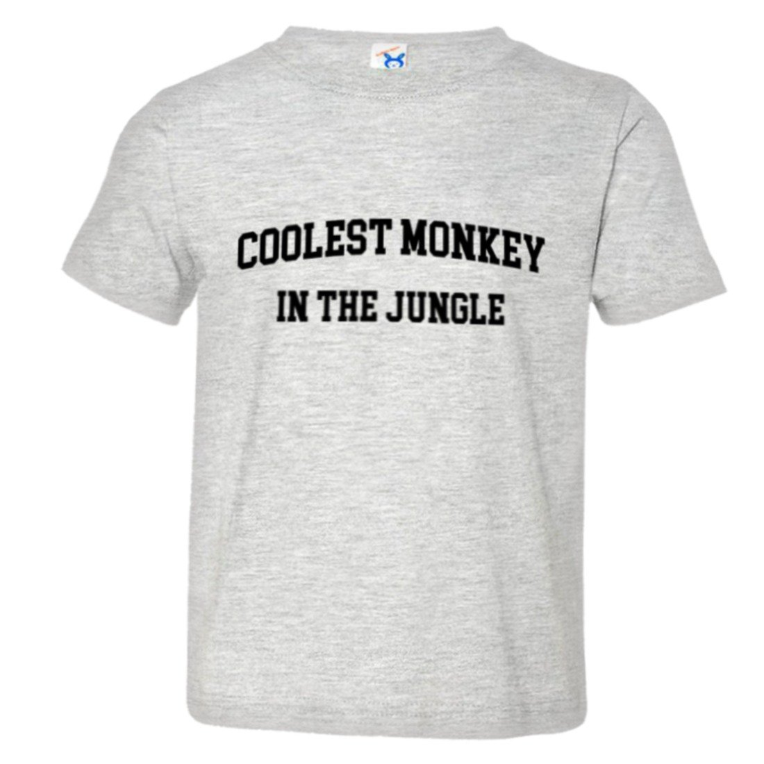 Toddler Classic Coolest Monkey in The Jungle Funny HQ Tee Shirt