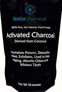 product image for (1LB) Organic Coconut Activated Charcoal Powder - Food Grade, Kosher - Teeth Whitening, Facial Scrub, Soap Making (1 Ounce to 5 pounds (1 Pound)
