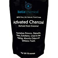 (1LB) Organic Coconut Activated Charcoal Powder - Food Grade, Kosher - Teeth Whitening...