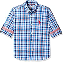50 - 70% Off on Boy's Shirts - US Polo, Allen Solly, Indian Terrain & More