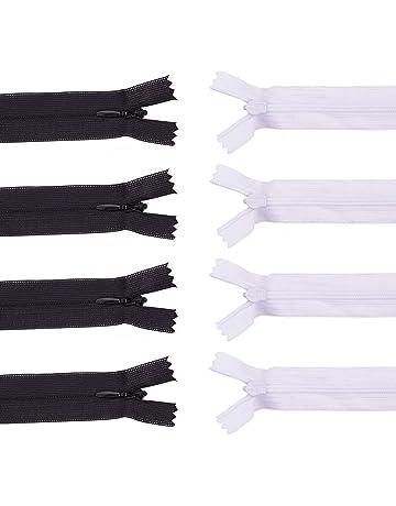 BENECREAT Assored Nylon Coil Zipper Tailor Sewer Craft Bulk para Tailor Sewing Crafts