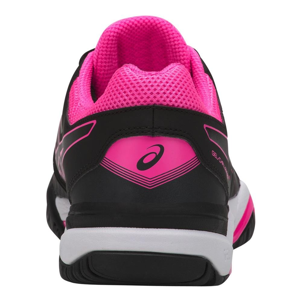 ASICS Women's Gel-Challenger 11 Tennis Shoe B07147VM9X 6 B(M) US Black/Black/Hot Pink