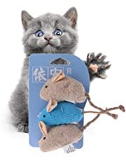 Katzenspielzeug, mit Quietschgeräusch und Geräuschen, für Katzen und Katzen, 3 Stück