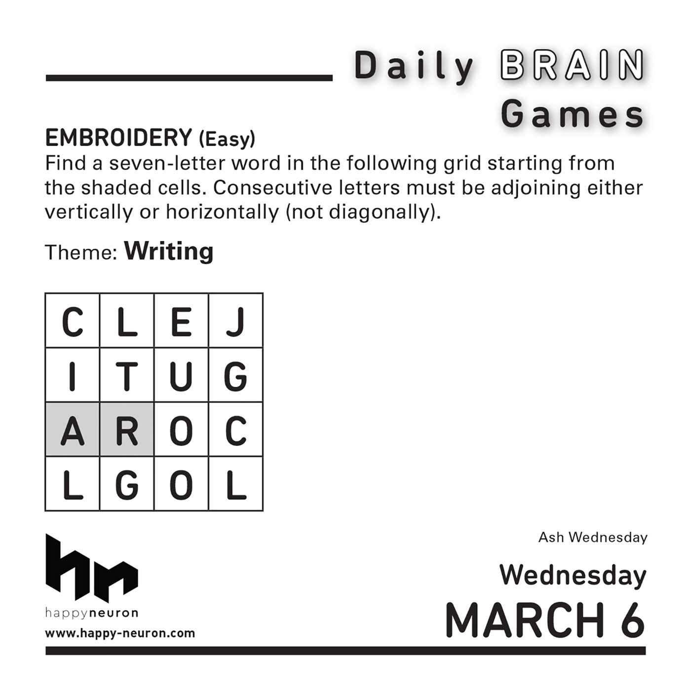 Amazon.com: 2019 HappyNeuron's Daily Brain Games 365 Page-A-day Desk/Box  Calendar: Everything Else