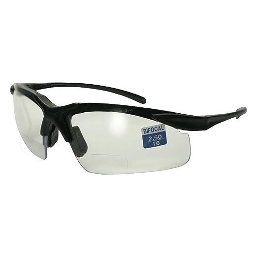 532210a060 Amazon.com  Apex Bifocal Safety Glasses UV400 Magnifying Reading Clear  Eyewear 2.50  Clothing