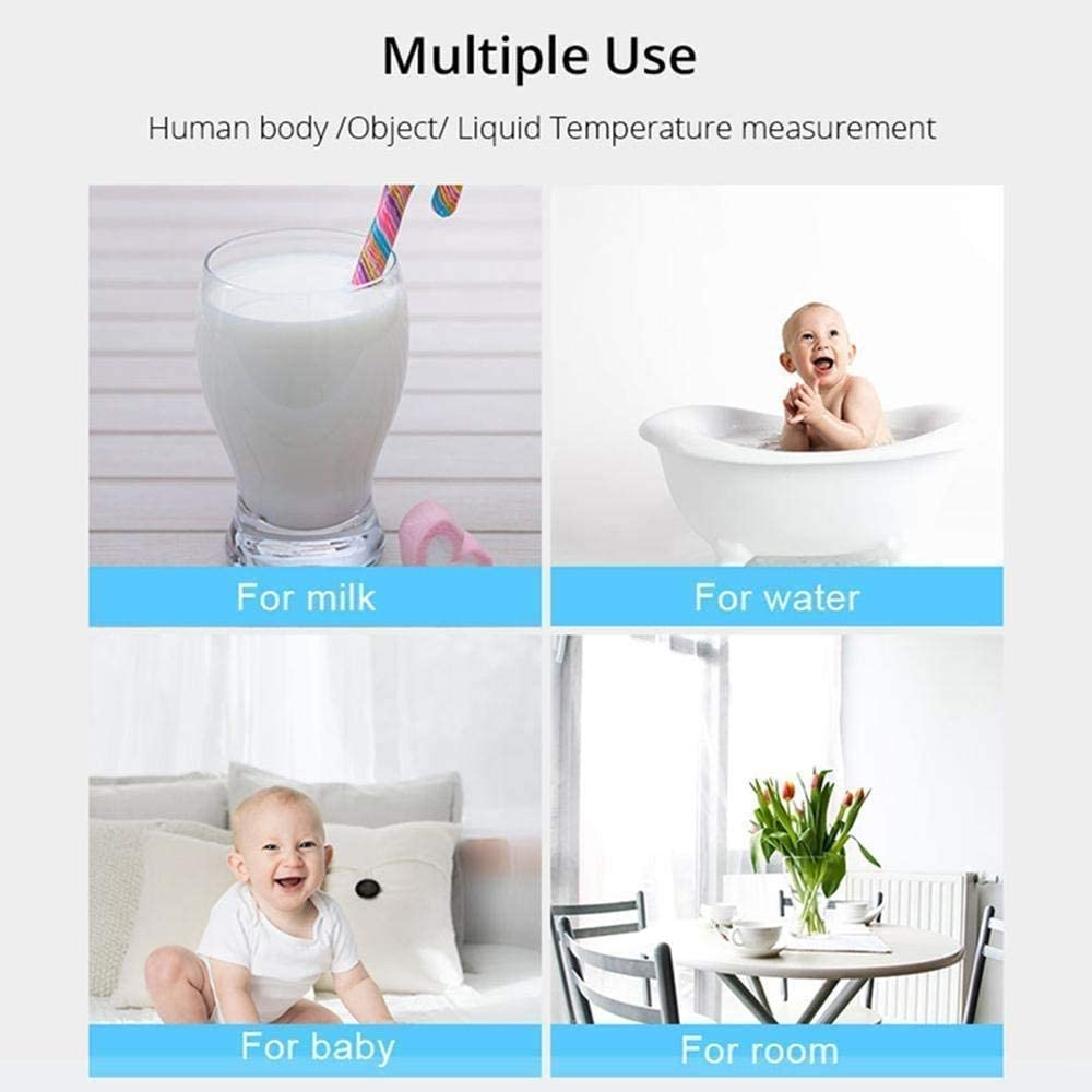Ni/ños Ni/ños Term/ómetro Infrarrojo Para Uso M/édico Adultos Term/ómetro De Fiebre De O/ído Digital Sin Contacto Iproven Para Beb/és