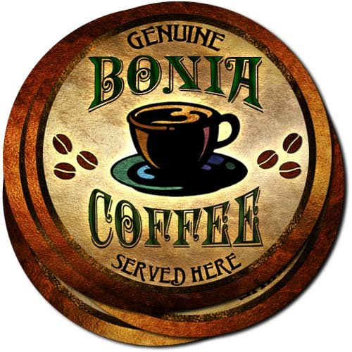 bonia-coffee-neoprene-rubber-drink-coasters-set-of-4