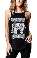 Enlishop Fashion Lady Horse Print Sleeveles T-shirt Vest Top Blouse