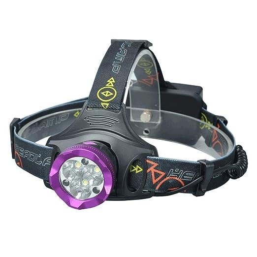 Q-JKJ LED cabezal de la antorcha, Linterna frontal LED: la mejor ...