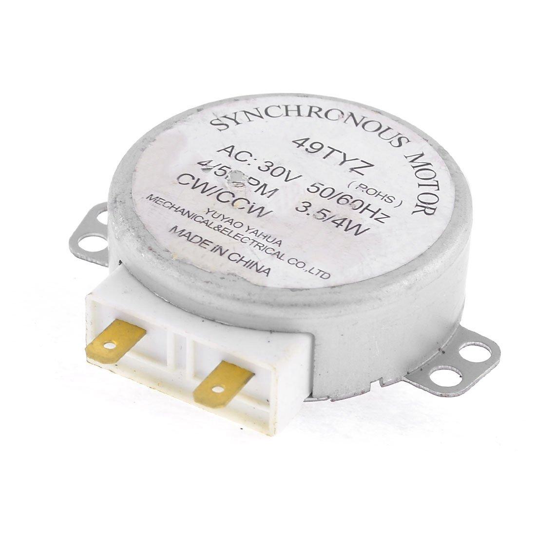 Sourcingmap - Horno de microondas plataforma giratoria síncrona ...