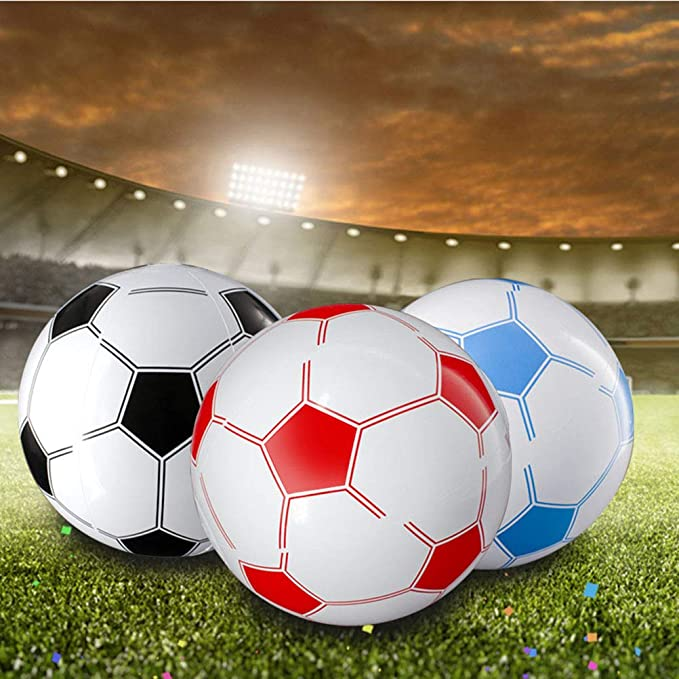 STOBOK - Balón de fútbol Hinchable de 6 Piezas para niños pequeños ...