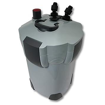 SunSun HW-403A Filtro exterior acuario 3 Etapas 1400l/h Material filtrante Mantenimiento acuario: Amazon.es: Productos para mascotas