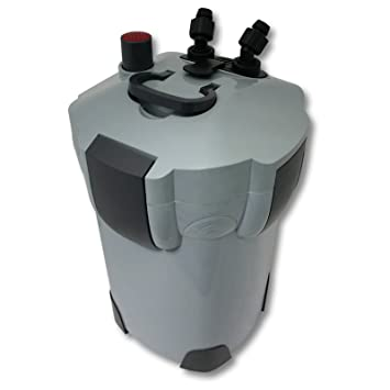 SunSun HW-403A Filtro exterior acuario 3 Etapas 1400l/h Material filtrante Mantenimiento acuario