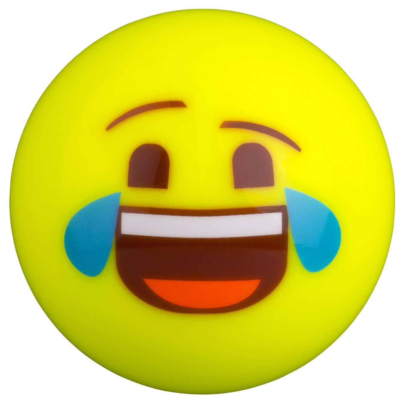 GRAYS Gris Unisexe Emoji Pleurs Rire Hockey Balle, Multicolore, Taille Unique