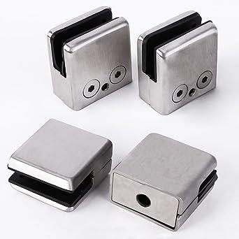 4 x pinzas de cristal 8,5 ~ 10 mm portavasos de acero ...