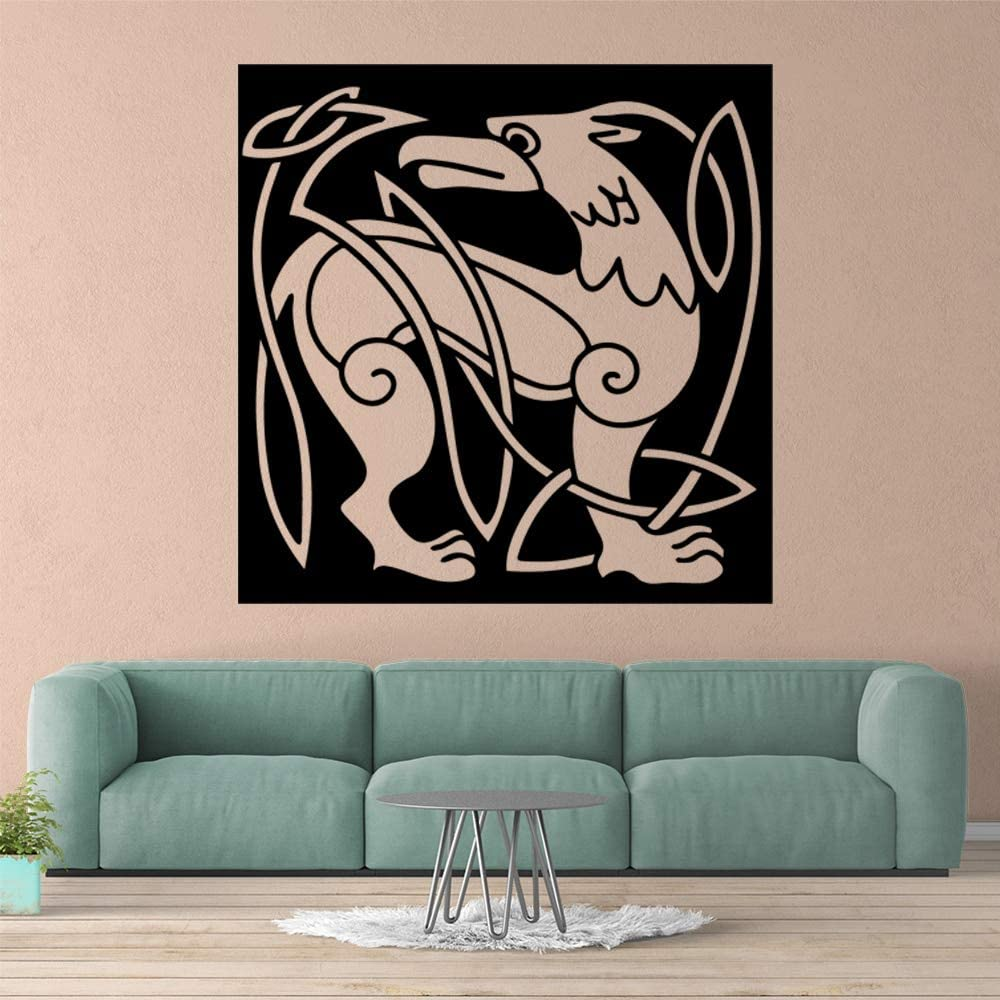 BailongXiao Dibujos Animados de Animales Pegatinas de Pared habitación Infantil decoración del hogar decoración del hogar Accesorios Mural 57x57cm: Amazon.es: Hogar
