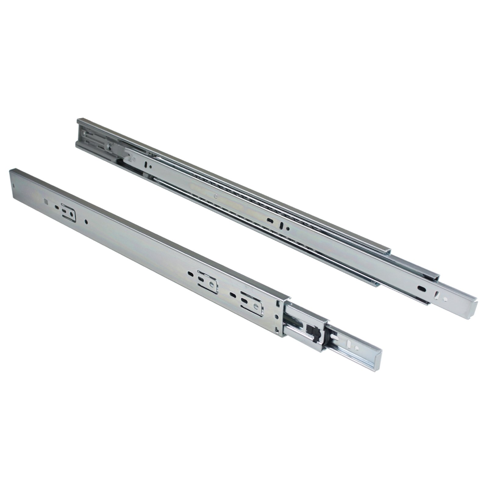 22-Inch Heavy Duty Full Extension Ball Bearing Drawer Slides Soft Close Rail Runners 6Pair(12 Pieces) by Gobrico (Image #3)