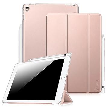Fintie Funda para iPad Pro 9.7 con Soporte Incorporado para Pencil - Trasera Transparente Protectora Carcasa Ligera con Función de Soporte y ...