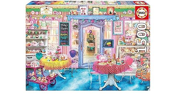 Educa Borrás - Puzzle La Tienda de Dulces, 1500 Piezas (16769.0): Amazon.es: Juguetes y juegos