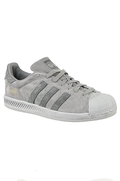 zapatillas superstar grises
