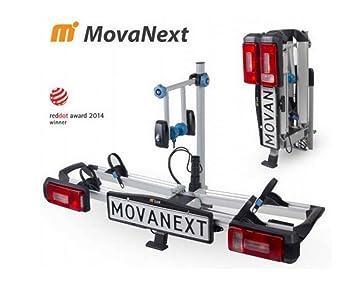 mova Next LX Plus – Portabicicletas trasero de bicicleta – 2 ruedas