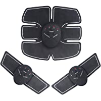 Amasawa Spierstimulator,EMS spierstimulator,Trainer spierstimulator,USB oplaadbare Abs Trainer met 6 modi 10 niveaus…