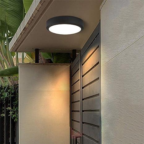 18W LED Luces de Techo Redondas Moderna Atmósfera Simple ...